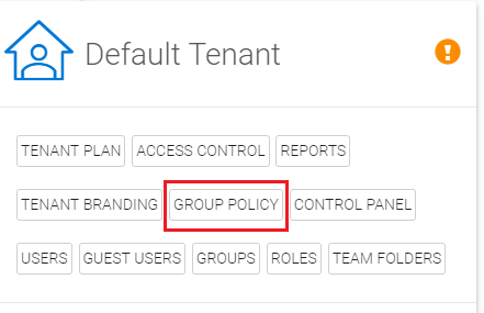 Configuring a CentreStack Tenant with Azure AD as a SAML