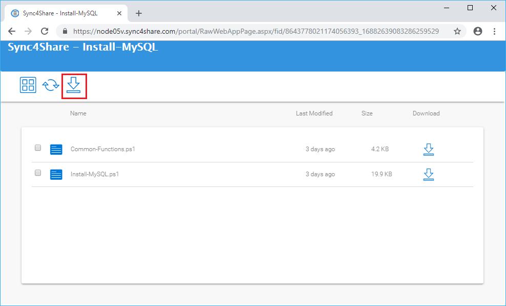 Installing MySQL Community Server – Gladinet
